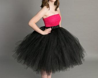 Junior Bridesmaid dress-tutu dress-tulle dress- Bridesmaid dress-Pageant dress-wedding-Princess dress -Lavender dress- Prom tutu dress