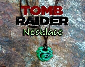 Lara Croft's Necklace / Pendant / Chocker / Tomb Raider 2013  Rise of the Tomb Raider
