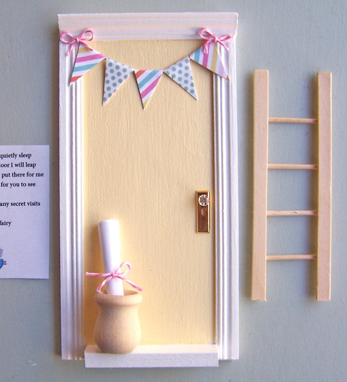 Fairy door tooth fairy door fairy door kit baby by parkerjshop for Tooth fairy door