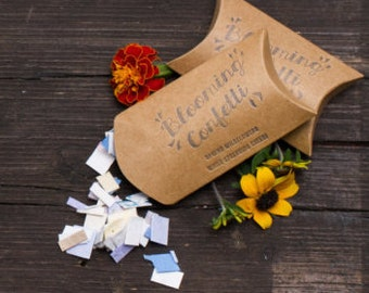Seed Paper Blooming Confetti