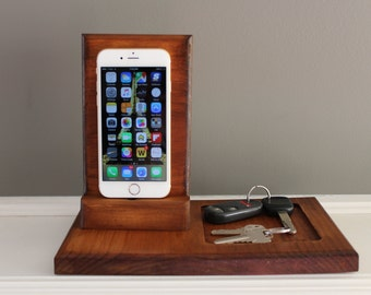 Phone Dock Key Holder Coin Holder