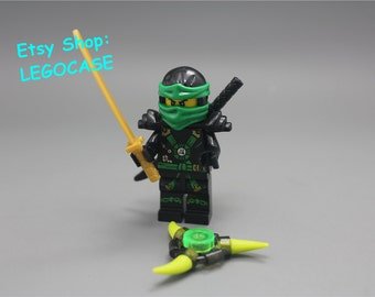 Lloyd ninjago etsy fr - Ninja vert lego ...