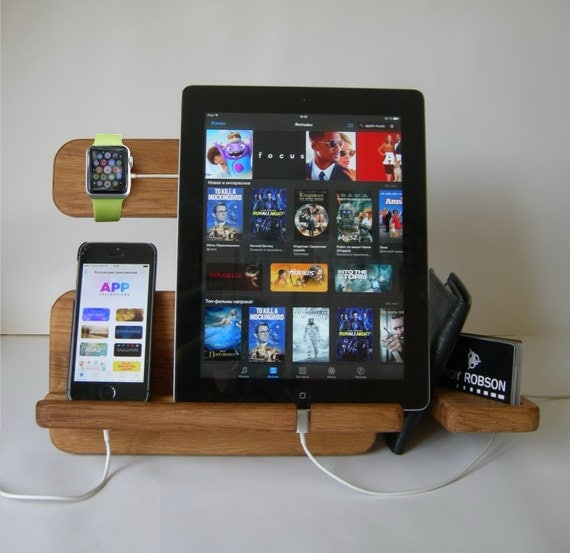 Apple Watch Stand Docking Station Charging By Artwoodworking