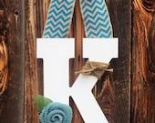 Personalized Door Hanger - Door Monogram - Wooden Monogram - Monogrammed Door Decor - Housewarming Gift - Wreath Alternative - Wreath -