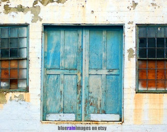 Watching And Waiting, Door Photography, Urban Decay, Abandoned, Old Doors, Street Photography