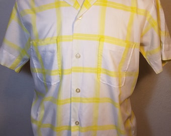 FREE  SHIPPING  Vintage 1950 Cotton Shirt