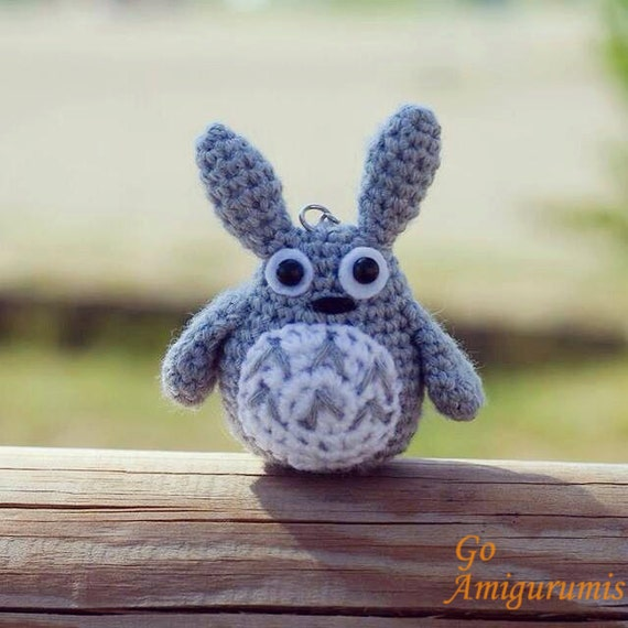 Totoro Amigurumi Lanas Y Ovillos : Totoro amigurumi Totoro crochet totoro plush totoro doll
