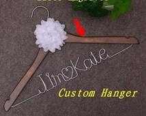 Groom Bride wire hanger,Groom wire hanger,Bride wedding Hanger, Jame Kate Custom initials Heart Wire Hanger Wedding Accessories,dress hanger