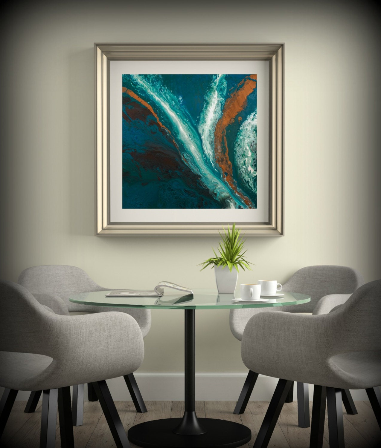 Dining Room Art Prints: Dining Room Art Square Wall Art Prints Fine Art Prints Giclee