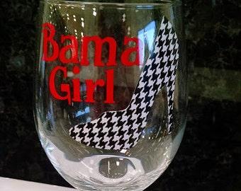 Wine Glass-Bama Girl or Man