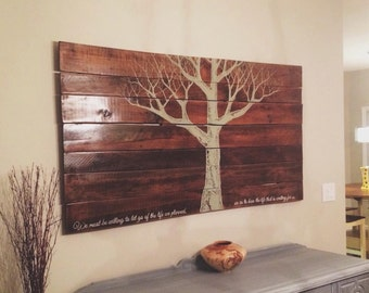 Large, Handpainted Wall Hanging totally customizable