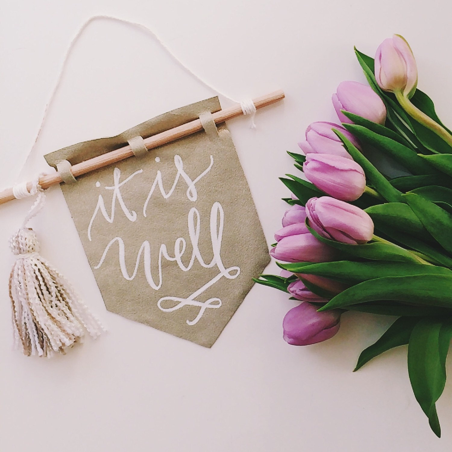 Wedding Gift Money Amount Calculator : ON SALE Mothers Day present, wedding day Banner, It is well with my ...