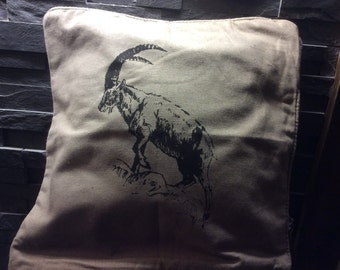 Pillow Alpine ibex