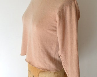 upcycled cashmere sweater