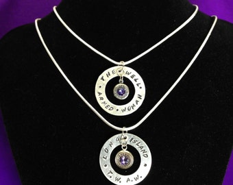 The Well Armed Woman Limited Edition Necklace (Fundraiser for the LINY Chapter of TWAW)