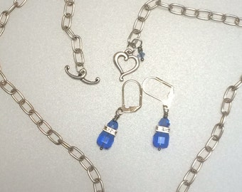 Simply Elegant Swarovski Crystal Jewelry set