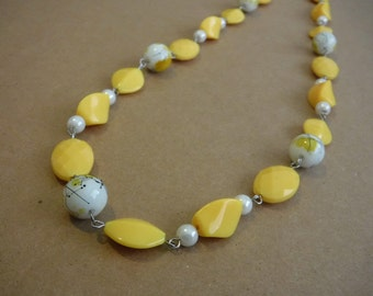 "24"" Yellow Chain Necklace"