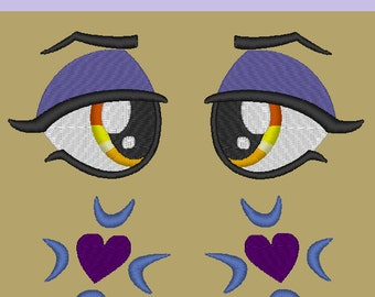 MLP:FiM Moonlight Raven Eye and Cutie Mark PES set