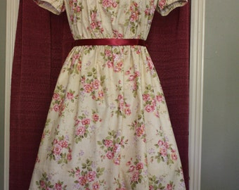 Classic Tea Length Lolita in Spring Floral  Dress