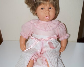 "Jesmar Jessica 18"" Baby Girl Doll 1995 Spain Original Outfit"