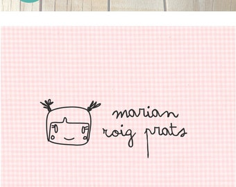 Custom Stamp for clothing