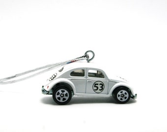 Volkswagen Beetle Herbie The Love Bug Hot Wheels Ornament