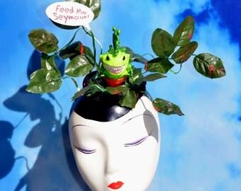 Little Shop of Horrors Audrey II Plant Fascinator Hat