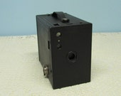 Brownie Camera ~ No. 2A Brownie Camera ~ Eastman Kodak ~ Photography Collectible ~ Photo Prop ~ 1920's Era ~ Black Brownie Camera
