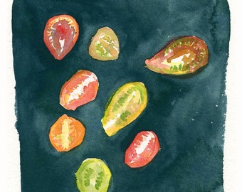 Tomatoes Archival Print by Lindsay Gardner