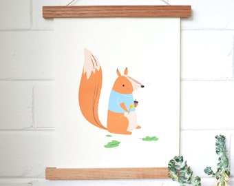 Date Night // Squirrel Print