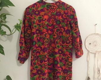 Psychedelic Mini Dress