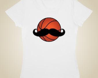 Basketball Mustache shirt