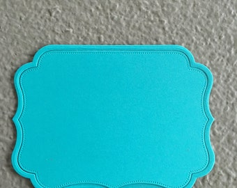 Journaling Die Cut with Frame