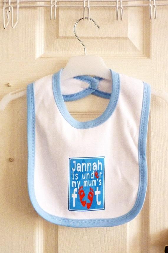 Baby Gifts For Muslim : Islamic baby shower gift boy bib dribble