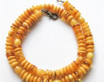 Genuine Vintage ButterScotch Baltic amber Necklace
