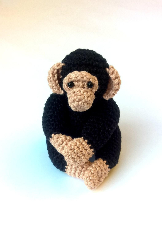 h keln sie schimpanse h keln sie amigurumi affe h keln sie. Black Bedroom Furniture Sets. Home Design Ideas