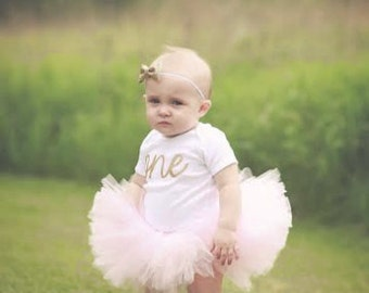 Baby girl first birthday outfit | First Birthday Tutu | Girls First | 1st Birthday Girl Outfit Dress | one year old girl birthday outfit