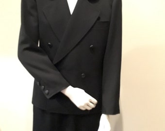 Vintage YSL Couture Ladies Suit