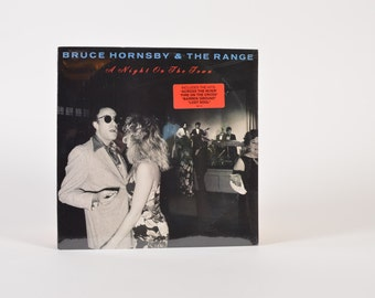"""BRUCE HORNSBY & The Range - """"A Night On The Town"""" vinyl record"""