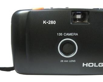 Holga K-280 35mm Film Camera with 28 mm Holga Lens K280 NIB