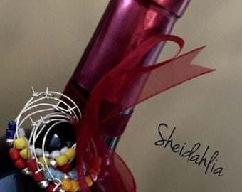 Wine charm- Wine glass charms, Wine glass decoration, Bar accessories, Bar decor, Wine lover gift, Gift, Wine lover, Wine bottle decoration