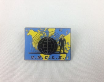 Man From UNCLE 1960's Classic Television Pin