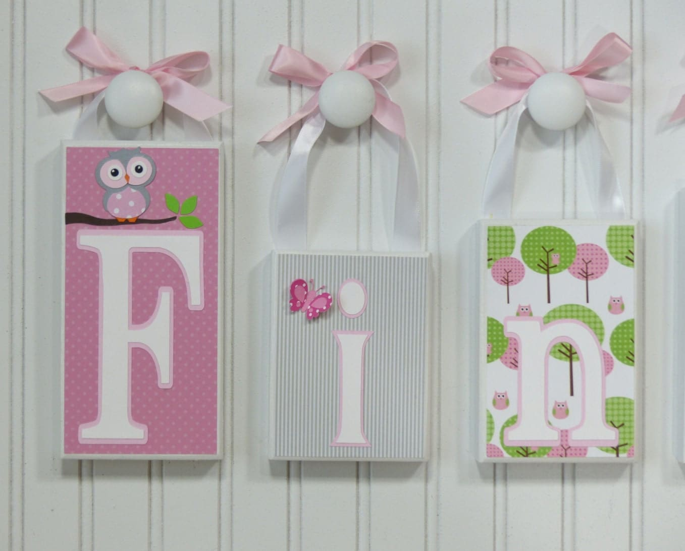 Whimsical owl decor pink girl bedroom owl bedroom baby - Girl owl decor ...