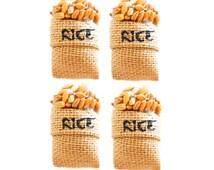 Raw Rice Seed Fridge Magnet,Raw Rice Magnet,3 D Mullet Magnet,Sack Magnet,Seed Magnet,Food Magnet,Fridge Magnet,Spice Magnet,3D Magnet,Rice