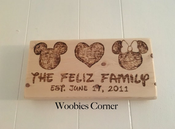 ... wedding sign, Custom Disney sign, personalized wedding gift, Disney