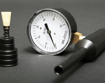Bagpipe Chanter Reed Pressure Gauge with reed holder!