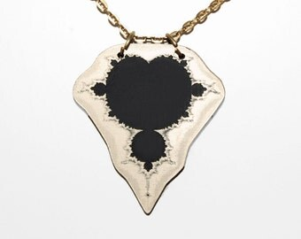 Mandelbrot - The famous fractal as a necklace