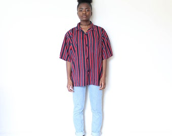 SALE***Candy Striped Vintage Blouse