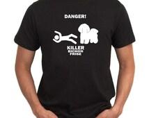 Danger ! Killer Bichon Frise T-Shirt