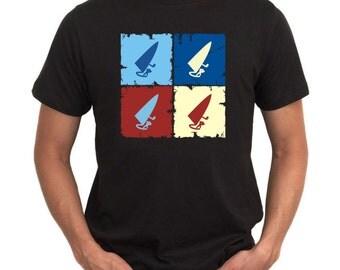 Windsurfing  Pop Art T-Shirt